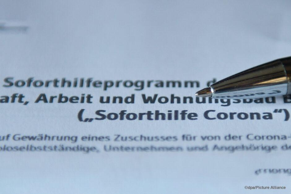 Corona: Steuererleichterungen für Unternehmen